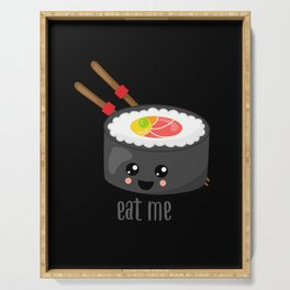 Eat Me in black Serving Tray