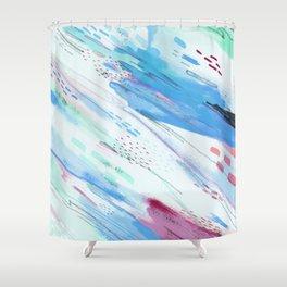 Wisps Shower Curtain