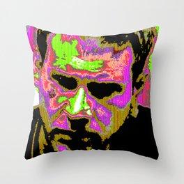 deckard glitch Throw Pillow