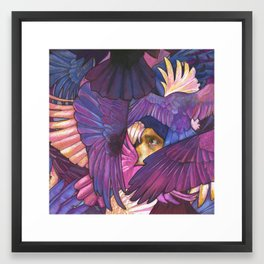 A Murder of Ravens Framed Art Print