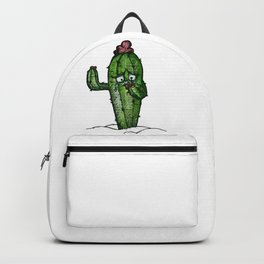 A stung cactus Backpack