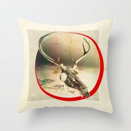 Coffee Will Stain Your Teeth Throw Pillow
