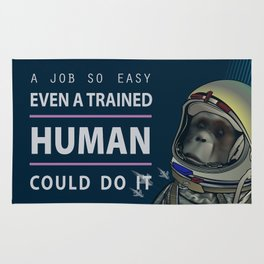Even a Trained Human Could Do It Rug