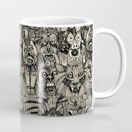 gargoyles vintage black Coffee Mug