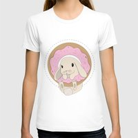 sprinkles T-shirts featuring Sprinkles the Bunny by LarissaKathryn
