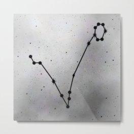 PISCES (ZODIAC SIGNS) Metal Print