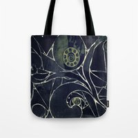 mosaic Tote Bags featuring Mosaic  by KunstFabrik_StaticMovement Manu Jobst