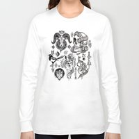 alchemy Long Sleeve T-shirts featuring Lesser Alchemy by Polkip