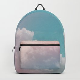 Pastel Clouds over Galveston Backpack