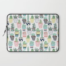 Cute Cacti in Pots Laptop Sleeve