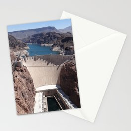Hoover Dam Aerial View Stationery Cards