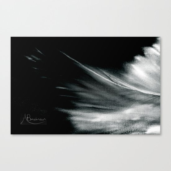 Passing Angel Canvas Print