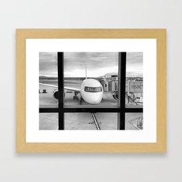 Pre-Flight Framed Art Print
