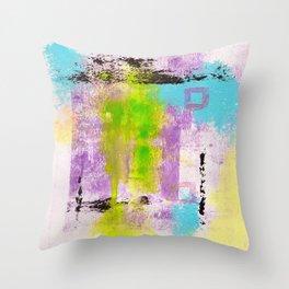 Abstract Life Throw Pillow