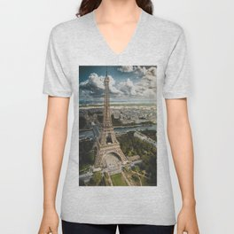 Paris is always a good idea Unisex V-Neck
