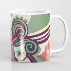Floral curves II Mug