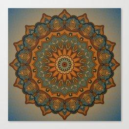 Moroccan sun Canvas Print