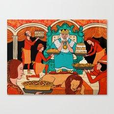 King's Rider Canvas Print