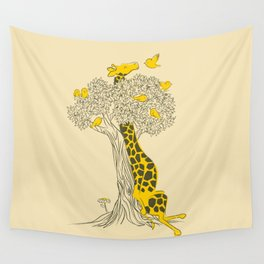 Friends in High Places Wall Tapestry