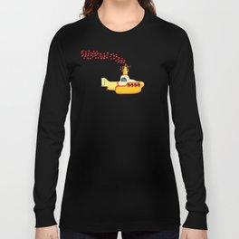 Yellow Submarine Bubbling Love Long Sleeve T-shirt
