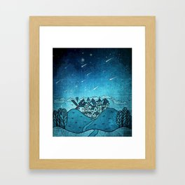 La Noche de las Estrellas Framed Art Print