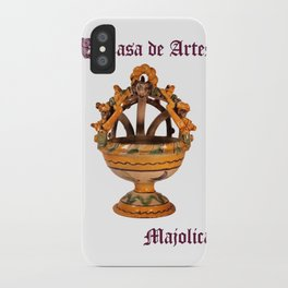 Majolica Incense Burner - Casa de Artes iPhone Case