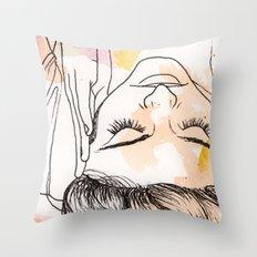 Watercolor Twelve Throw Pillow