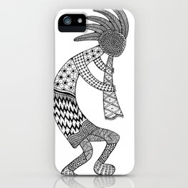 Tangled Kokopelli iPhone Case