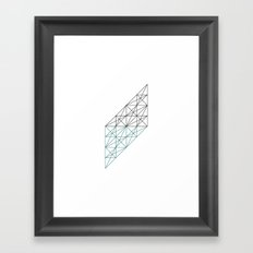 #232 The mad architect – Geometry Daily Framed Art Print