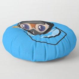 Ninja Pepe! Floor Pillow