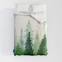 Pine Trees 2 Comforters