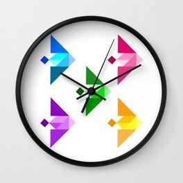 Stay In School! Wall Clock