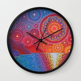 Kauai, Hawaii Sunset Wall Clock
