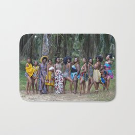 Liberian girl magic Bath Mat