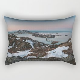 Sommaroy - Landscape and Nature Photography Rectangular Pillow