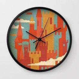 Castles  Wall Clock