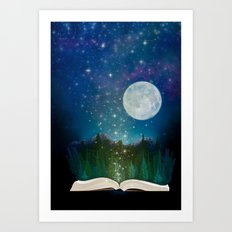Open Your Imagination Art Print