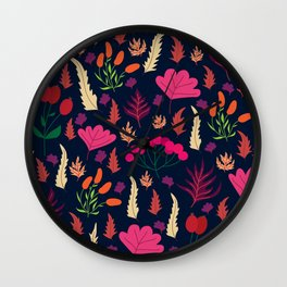 Sweet berries Wall Clock