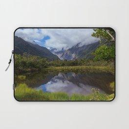 View on Fox Glacier. West Coast, New Zealand Laptop Sleeve