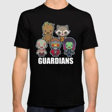 The Guardians SMALL Mens Fitted Tee Black