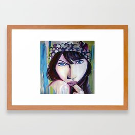 """""""Gisele"""" Framed Art Print"""