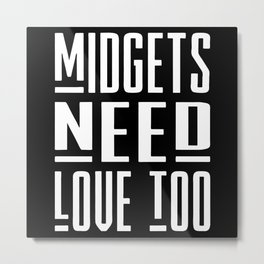 midget Metal Print