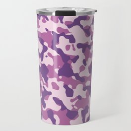 Camouflage Trending Colors Purple Travel Mug