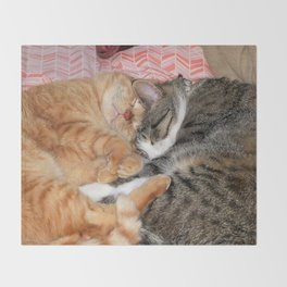 Nap Buddies Throw Blanket
