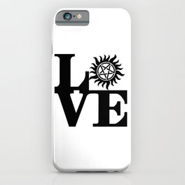 Supernatural Love iPhone Case