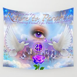 The Kingdom of Heaven is Within Wall Tapestry