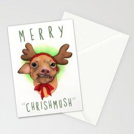Chrismas Card - Merry Chrishmush  Stationery Cards