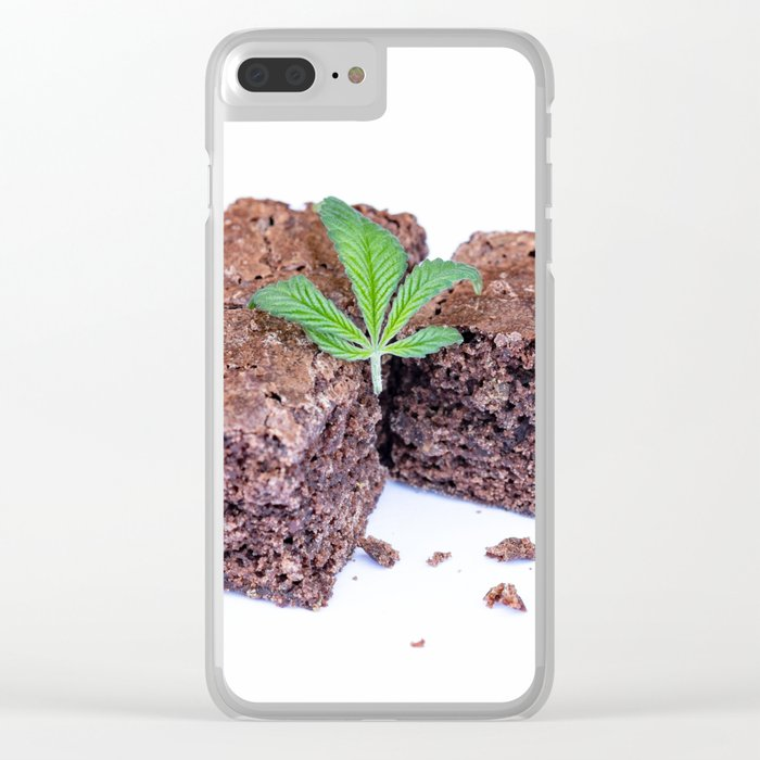 Pot Brownies Clear iPhone Case