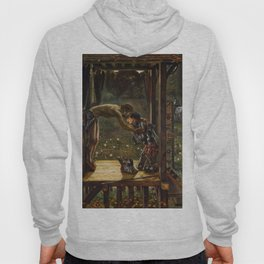"Edward Burne-Jones ""The Merciful Knight"" Hoody"