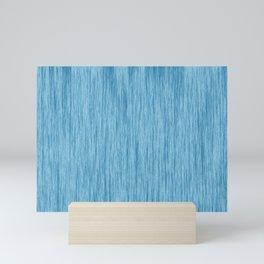 blue color 1 Mini Art Print